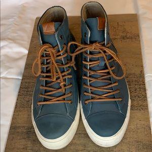 Aldo Blue Sneakers w/ Leather laces & Cork insole